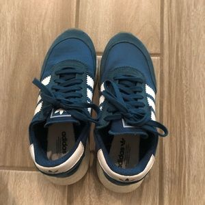Adidas Iniki Runner shoes teal 5.5